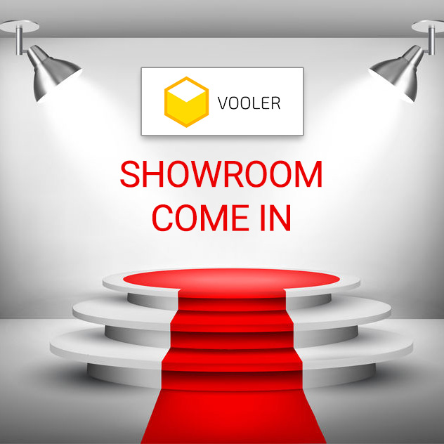 Vooler showroom